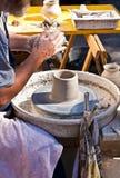 Pottenbakkerswiel Stock Fotografie