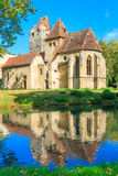 Pottendorf Castle and Gothic Church Ruins near Eisenstadt Royalty Free Stock Image