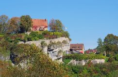 Pottenstein Royalty Free Stock Photography