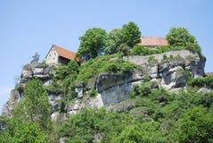 Pottenstein slott Royaltyfria Bilder