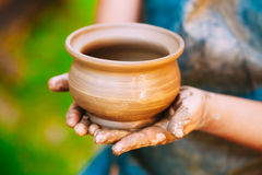 Potter And Clay Craft Royalty Free Stock Photos