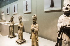 Potter clerk figurine stock image
