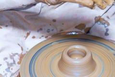Potter's wheel Stock Photography