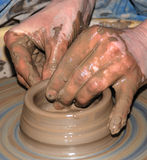 Potter's wheel 3 Royalty Free Stock Images