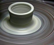 Potter's wheel stock photos