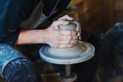 Potter's wheel Stock Image