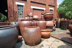 Potter's Yard Royalty Free Stock Photo