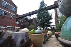 Potter's Yard Stock Photo