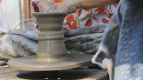 Potter wheel stock footage