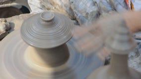 Potter wheel stock video