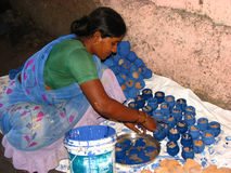 Potter Woman Stock Images