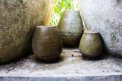 Potteries αργίλου Στοκ Εικόνες