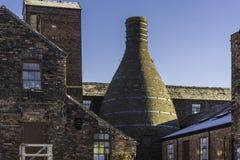 Potteries adentro alimenta en Trent, Reino Unido fotografía de archivo