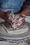 Potters hands Royalty Free Stock Images