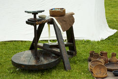 Potters wheel Royalty Free Stock Photo