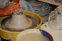 Potters Wheel Royalty Free Stock Image