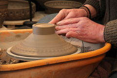 Potters Wheel. Stock Image