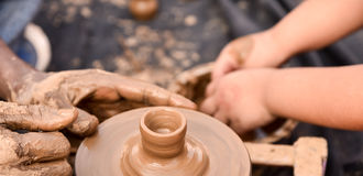 Potters wheel Stock Photography