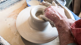 Potters Wheel Royalty Free Stock Images