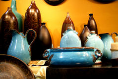 POTTERY. STILL LIFE Royalty Free Stock Photos