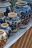 Pottery. Some pottery expose for sell Royalty Free Stock Photo