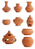 Pottery. Thailand traditional pottery at Kho Ket Nonthaburi Stock Photography