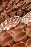 Pottery. Image of artisan, home made products, made by indians. Picture was taken in an indian village in the north part of Argentina stock photography