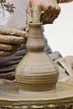 Pottery. A handmade pottery from the medieval festival in Romania Stock Photography