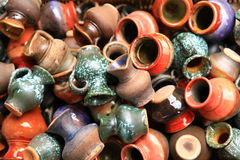 Pottery. At the market in Lithuania,Vilnius Stock Images
