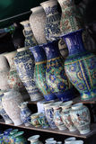 Pottery. Fair pain and pottery artisans Royalty Free Stock Image