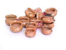 Pottery. Photography on a white background Royalty Free Stock Photography
