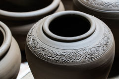 Pottery background Royalty Free Stock Photos