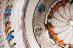 Pottery background Stock Photo
