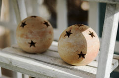 Pottery Balls Royalty Free Stock Photography