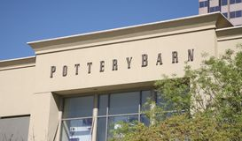 Pottery Barn Home Furnishings Royalty Free Stock Images