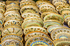 Pottery. Beautiful traditional pottery from romania Royalty Free Stock Images