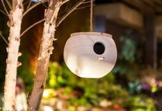 Pottery Bird House Stock Image