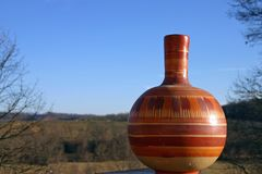 Pottery blue sky Stock Images