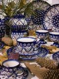 Pottery from Boleslawiec, Stock Photos