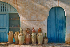 Pottery Ceramics Royalty Free Stock Photo