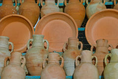 Pottery Ceramics Royalty Free Stock Photography