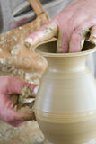 Pottery class Royalty Free Stock Photos