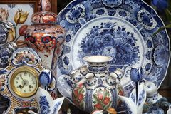 Pottery Collection Stock Images