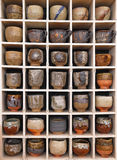 pottery collection Royalty Free Stock Image