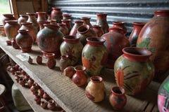 Pottery in Costa Rica Stock Photo