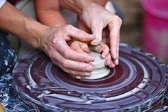 Pottery craft Royalty Free Stock Images