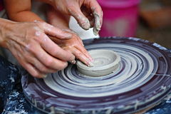 Pottery craft Royalty Free Stock Photos