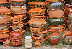 Pottery crafts Royalty Free Stock Photo