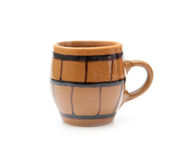 Pottery cup Stock Image