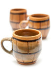 Pottery cups Stock Images